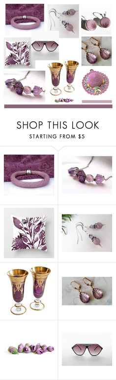 """February Amethyst"" by inspiredbyten ❤ liked on Polyvore featuring vintage"