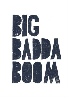 Party decor BIG BADDA BOOM inspirational quotes – Leeloo in the fifth element – Linocut Art Print dark gray black movie poster quote from my fave movie! The Fifth Element Movie, Quote Posters, Movie Posters, Milla Jovovich, About Time Movie, Action Movies, Movie Lines, Movie Quotes, Letterpress