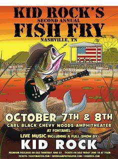 Harley davidson weekend greetings photos liberty h d for Kid rock fish fry