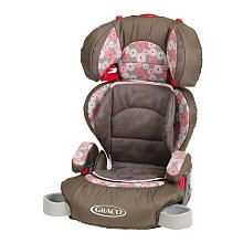 """Ray's new """"extra big girl car seat""""... Kinda scary getting rid of the 5point harness. My baby is growing up!"""