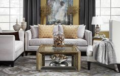 Mixed Metals Translated Into Home Decor Loving The