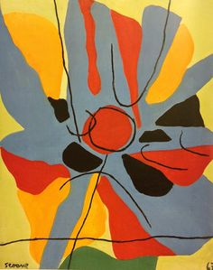 LUIS SEOANE, O sol. 1967 American Art, Flora, Collage, Picasso, Paintings, Sun, Contemporary Paintings, Vinyls, Abstract