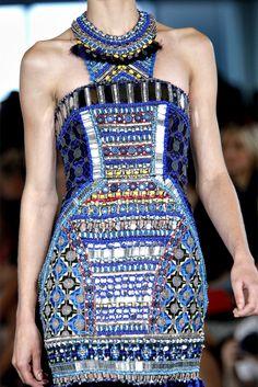 Bhangra dress, Matthew Williamson #Couture SS2013