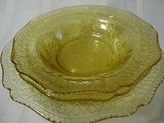 """Patrician"" Depression Glass 1933-1937"