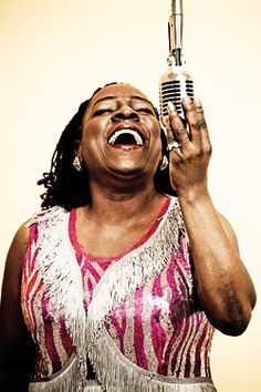 sharon jones- one of the best shows I've seen in ages and ages (The Gothic, Denver). this is the voice of soul/funk. she's 1 in a million.