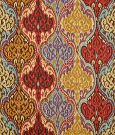 Suzani lunar sky fabric by the yard for sofas, drapes, decorative throw pillows or curtains. Textiles, Textile Patterns, Print Patterns, Drapery Fabric, Fabric Decor, Linen Fabric, Suzani Fabric, Chair Fabric