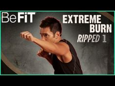 Extreme Burn- Ripped Body Workout: Level 1 | Mike Donavanik - YouTube