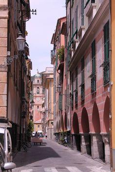 "Chiavari ""I Portici Neri"" Chiavari - Golfo del Tigullio - Genoa - Liguria - Italy"