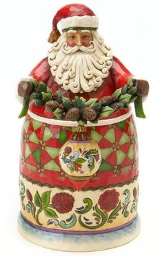 Beauty Comes From Within - Secret Santa with Ornament