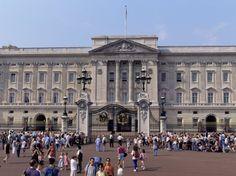 London, England. Buckingham Palace
