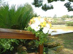 Imagens do local onde foi realizado o casamento em Guararema - SP.