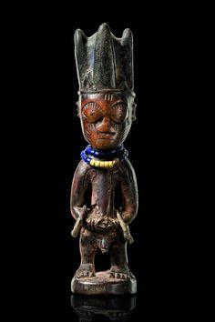 Yoruba Ere Ibeji (Twin Figure), Yagba - Egbe, Nigeria http://www.imodara.com/post/95221684879/nigeria-yoruba-ere-ibeji-twin-figure-yagba