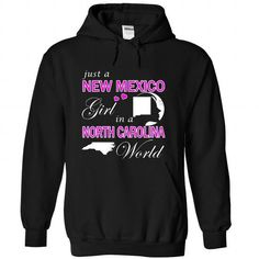 Just a New Mexico Girl in a North Carolina World (Pink) #city #tshirts #North Carolina #gift #ideas #Popular #Everything #Videos #Shop #Animals #pets #Architecture #Art #Cars #motorcycles #Celebrities #DIY #crafts #Design #Education #Entertainment #Food #drink #Gardening #Geek #Hair #beauty #Health #fitness #History #Holidays #events #Home decor #Humor #Illustrations #posters #Kids #parenting #Men #Outdoors #Photography #Products #Quotes #Science #nature #Sports #Tattoos #Technology #Travel…