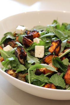 Rocket and Roast Vegetable Salad