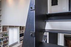 De Mooiste Trappenhuizen : Design l trap in franse eik bloktrap met metaal gelakte