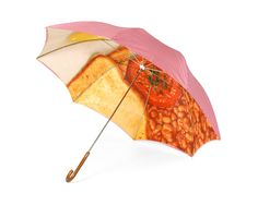 London Undercover -   English Breakfast Umbrella    £50.00    Red Gingham Tablecloth Slim Walker umbrella with full English Breakfast interior. Metal shaft & wooden handle with laser etched London Undercover logo.
