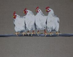 Céline Pilon - Design global: Poules