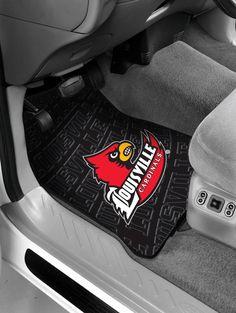 Louisville College Car Floor Mats (Set of 2)