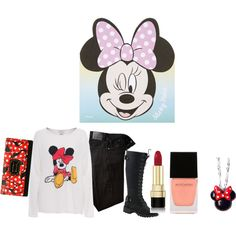Pretty Minnie by hal13 on Polyvore featuring polyvore, fashion, style, Citizens of Humanity, Nature Breeze, Torrid, Dolce&Gabbana, Witchery and Topshop