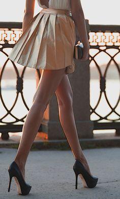 heels and dress