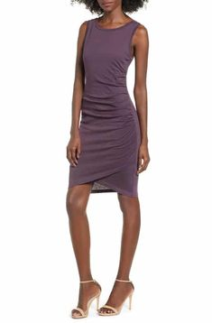Shop the latest collection of Leith Ruched Body-Con Tank Dress from the most popular stores - all in one place. Similar products are available. Nordstrom Half Yearly Sale, Fall Outfits, Cute Outfits, Fashion Branding, Nordstrom Dresses, Tank Dress, Affordable Fashion, Autumn Fashion, Dresses For Work