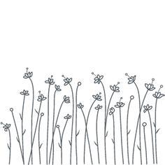 Flores Blancas- vinilo decorativo Florales