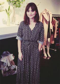 Jenna at LMPR's Press Day - April 8th, 2014