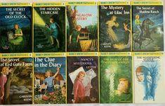Nancy Drew Series, Nancy Drew Books, Nancy Drew Mystery Stories, Hidden Mystery, Star Wars Books, Old Clocks, Book 1, Childrens Books, Yellow