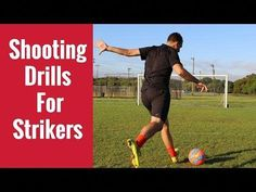 Shooting Drills For Forwards/Strikers. In today's video, Coach Ben breaks down a shooting drill that all strikers can do. The elite strikers in the world are. Soccer Drills For Kids, Basketball Plays, Football Drills, Soccer Practice, Basketball Tips, Soccer Skills, Soccer Ball, Basketball Court, Volleyball Tips