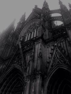 Gothic Cathedral in Cologne, Germany.                                                                                                                                                                                 More #gothicarchitecture