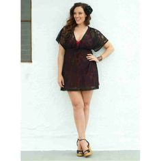 Halle Lace Cover Up (Black Noir) $12.40 http://www.curvyclothing.com.au/index.php?route=product/product&path=59_61&product_id=539