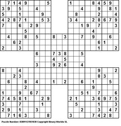 photo regarding Multi Sudoku Printable named 11 Least difficult sudoku shots within just 2019 Sudoku puzzles, Puzzle, Video games