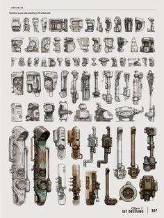 Znalezione obrazy dla zapytania bionic concept art