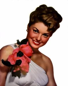 Esther Williams- those wonderful, improbable, musical, waterlogged movies of hers!!
