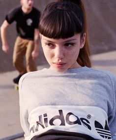trying not to be hit skateboarders with Nima Elm Cameron Johnson.rachel by darth_bador Pretty People, Beautiful People, Beautiful Women, Character Inspiration, Hair Inspiration, Baby Bangs, Rides Front, Short Bangs, Fashion Photography Inspiration