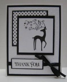 Christmas Thank You by Sweet Irene - Cards and Paper Crafts at Splitcoaststampers