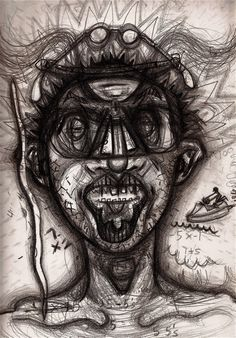 30 Self-Portraits Drawn While the Artist Was Under the Influence of 30 Drugs | Alternet