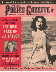 The National Police Gazette April 1962