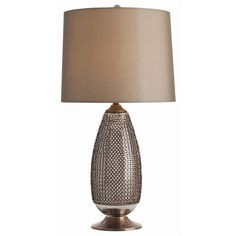 Chainmail Tall Lamp ($1,260) found on Polyvore