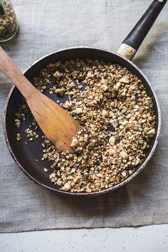 Recipe: Stovetop Maple Macadamia Granola