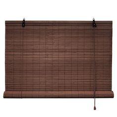 Bambusrollo 60 x 160 cm in dunkelbraun - Fenster Sichtschutz Rollos - VICTORIA M: Amazon.de: Küche & Haushalt