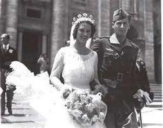 Carla Parodi-Delfino   Married: 10 July 1937 at Rome, Italy