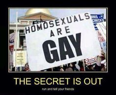 funny-sign-protest-gay-secret.jpg (540×444)