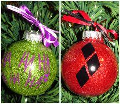 Harley Quinn  Joker Inspired Christmas Tree by IzzysCreation
