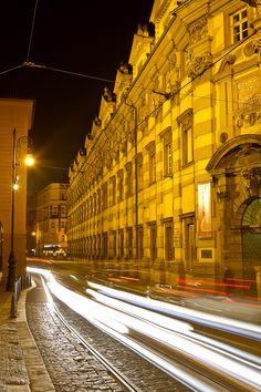 #Praha by night