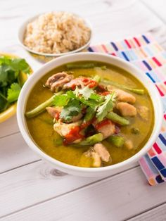 Pressure Cooker Thai Green Chicken Curry – Dad Cooks Dinner