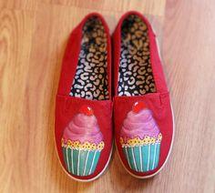Cupcake ice cream cherry Custom with Swarovski by BeatrizStudio 132b99a4c0