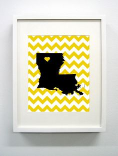 Grambling Louisiana State Giclée Print  8x10  Black by PaintedPost, $15.00 #paintedpoststudio - Grambling State University - Tigers