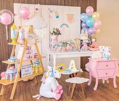 Grab all of your friends and come check out this Pastel Unicorn Birthday Party featured here at Kara's Party Ideas! Unicorn Birthday Parties, Unicorn Party, First Birthday Parties, Birthday Party Themes, Girl Birthday, Baby Unicorn, Birthday Invitations, Birthday Ideas, Happy Birthday