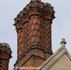 Love the intricate design of these chimneys!